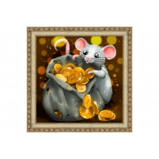 Mouse with Treasure