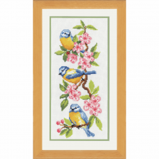 Birds on Blossoms