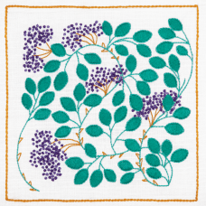 Embroidery Kit: Freestyle: Dee Hardwicke: Hedgerow Berries