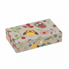 Bobbin Storage Box: 30 Spool: Owl
