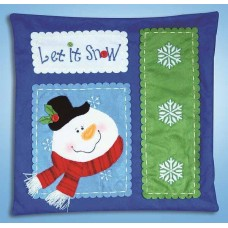 Let is Snow - Felt Applique Kit