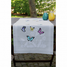 Embroidery Kit: Runner: Butterfly Dance