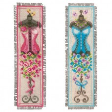 Bookmarks Vintage Mannequins: (Set of 2)