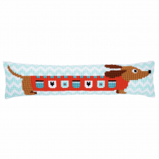 Cross Stitch Kit: Draught Excluder: Cute Dog