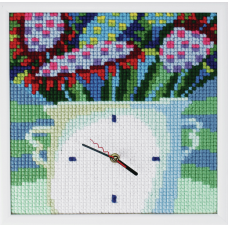 Cross Stitch Kit: Clockwork: Night Flowers