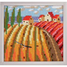 Cross Stitch Kit: Clockwork: Poppy Fields