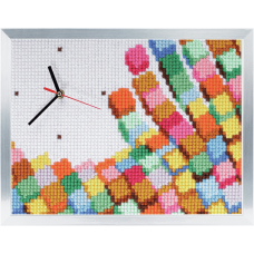 Cross Stitch Kit: Clockwork: Mosaic