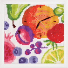 Cross Stitch Kit: Clockwork: Rich Fruits