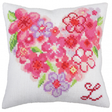 Cross Stitch Kit: Cushion: For You