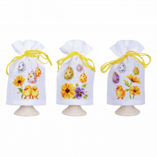 Egg Cosies: Chicks and Eggs: Set of 3