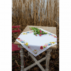 Tablecloth: Colourful Flowers