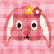 Cross Stitch Kit: 1st Kit: Best Friends: Happy Rabbit