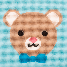 Cross Stitch Kit: 1st Kit: Best Friends: Lovable Bear