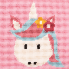Cross Stitch Kit: 1st Kit: Best Friends: Magic Unicorn