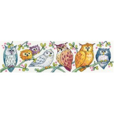 Owls on Parade (Evenweave)