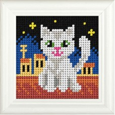Needlepoint Kit: Cat