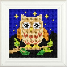Needlepoint Kit: Owl