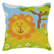 Cushion: Lion