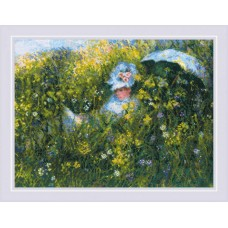 In the Meadow - Monet