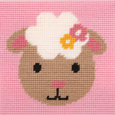 Cross Stitch Kit: 1st Kit: Best Friends: Smiling Sheep