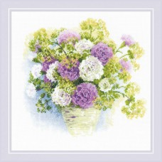 Watercolour Carnations
