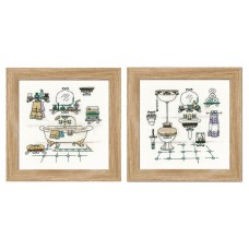 Bathroom Set of 2