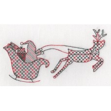 Santa's Sleigh Ride - Red/Green