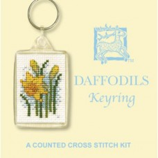 Daffodils Key Ring