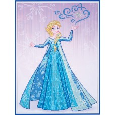 Diamond Painting Kit: Disney: Ice Magic Elsa