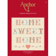 Cross Stitch Kit: Home Sweet Home