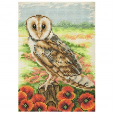 Counted Cross Stitch Kit: Essentials: Owl