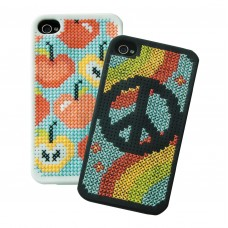 Cross Stitch Kit: iPhone 4 Cases: Selection 1