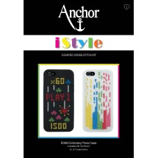 Cross Stitch Kit: iStyle: Phone Cases: Selection 4