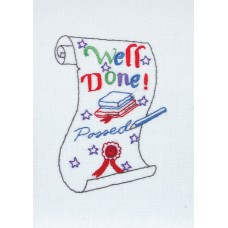 Embroidery Kit: Card: Exams
