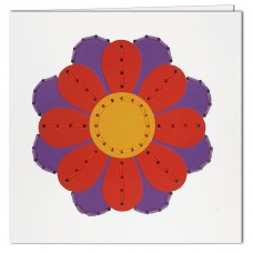 Craft Kit: Pre-Punch Card: Flower