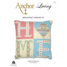 Tapestry Kit: Cushion: Living: Home Sweet Home