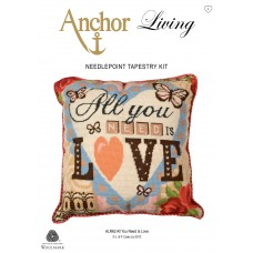 Tapestry Kit: Cushion: Living: All You Need is Love