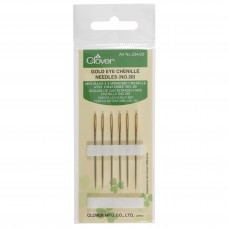 Hand Sewing Needles: Chenille: Gold Eye: No.20 (12)