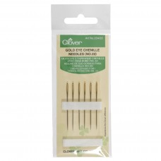 Hand Sewing Needles: Chenille: Gold Eye: No.22 (12)