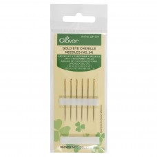 Hand Sewing Needles: Chenille: Gold Eye: No.24 (12)