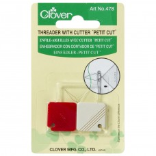 Needle Threader: with Cutter: Petit Cut (3)