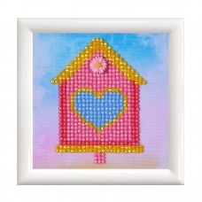 Diamond Painting Kit: Home Sweet Home: with Frame