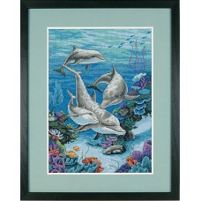 Counted Cross Stitch: The Dolphins Domain
