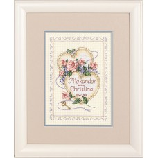 Mini Counted X Stitch: Wed/Rec: United Hearts
