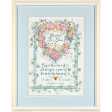 Counted Cross Stitch: Wed/Rec: United in Love