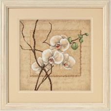 Counted Cross Stitch: Oriental Orchids