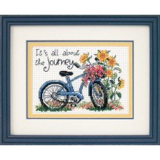 Mini Counted Cross Stitch: The Journey
