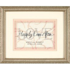 Mini Counted Cross Stitch: Wedding Record: Happily Ever After