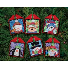 Counted Cross Stitch: Ornament: Xmas Pals: 6
