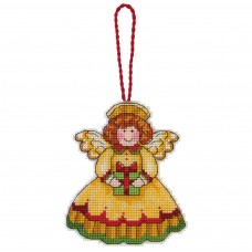 Counted Cross Stitch: Ornament: Angel